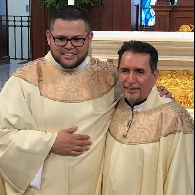 Father Edwin and Father Jose